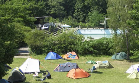 How to get Camping Site license in London