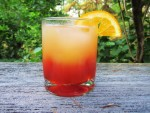 guide to make Italian Sunset Cocktail