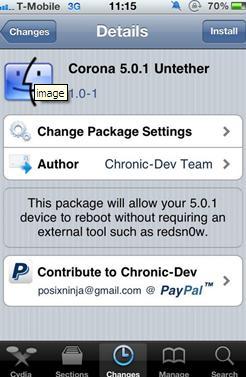 Jailbreak (untethered) iPhone 4/3GS, iPhone 4 CDMA, iPad1 and iPod on iOS 5.0.1