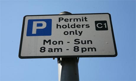 Guide abotu how to get parking permit