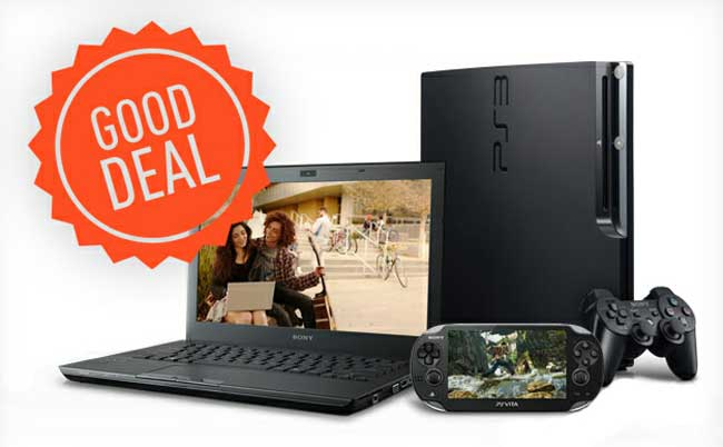 Buy a VAIO Laptop, Get a PlayStation 3 for Free!