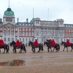 Horse Guards Parade Army Barracks in London