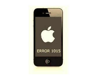 Fix 1015 iPhone Error