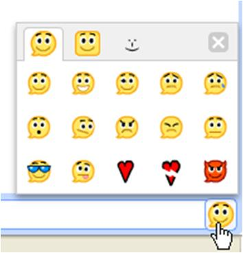 Google Talk Emoticons