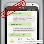HTC Voice-Assistant App Siri