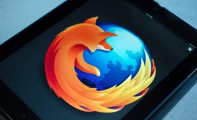 Mozilla iPad browser prototype