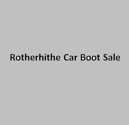 Rotherhithe Car Boot Sale