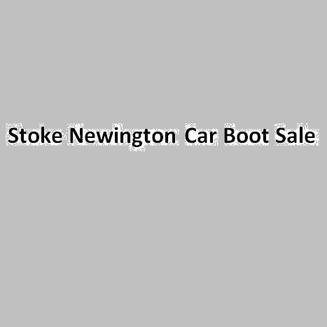 Stoke Newington Car Boot Sale