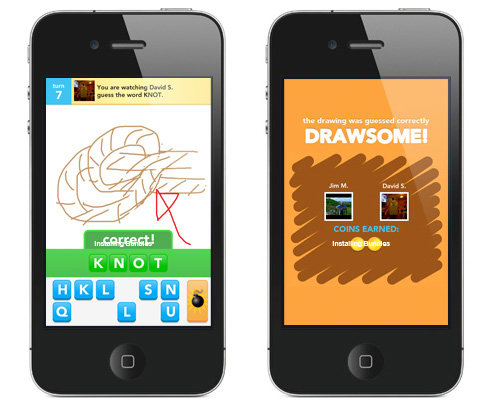 """Words With Friends"""" And """"Draw Something"""" on Windows Phone"""