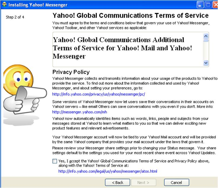 Install Yahoo Mail Messenger