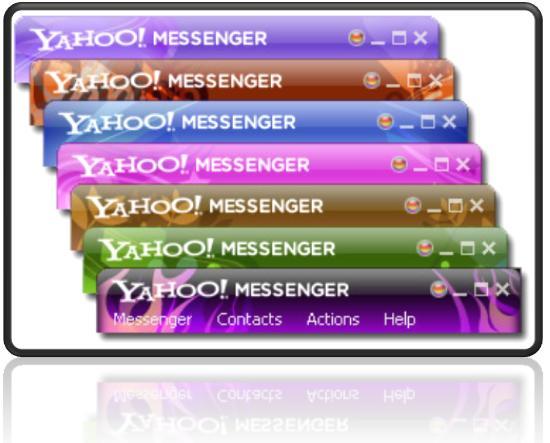 Download Skins for Yahoo Messenger