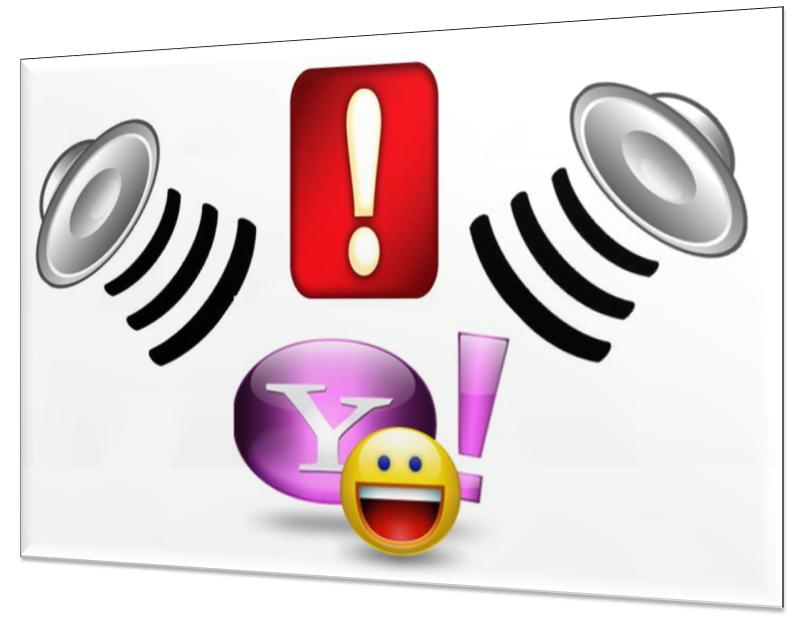 Yahoo Messengers sounds and alerts