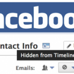 Facebook Hides Users Email Address