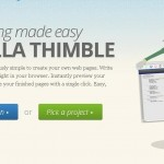 mozilla thimble launched