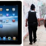 Police Issued Ipads Tablets So That They Can Fill In Forms on the Beat