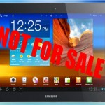 Samsung Galaxy Tab 10.1 Banned In the United States
