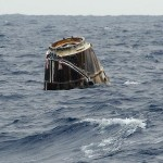 spacex dragon hit the pacific ocean