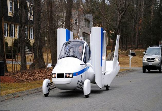 Terrafugia Launched Next-Gen Flying Car