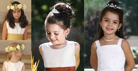 wedding hairstyles for children