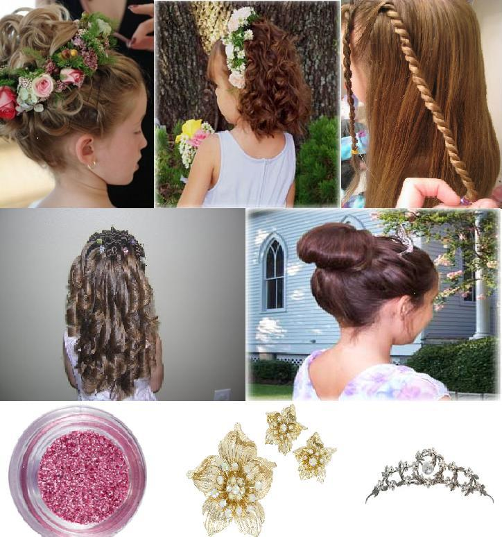 Kids Hairstyles For Weddings On Children Wedding Hairstyles