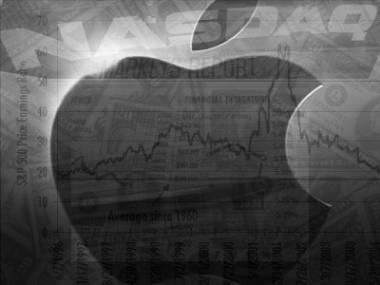 Apple Shares Dip