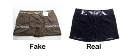 How to spot fake Armani Boxers