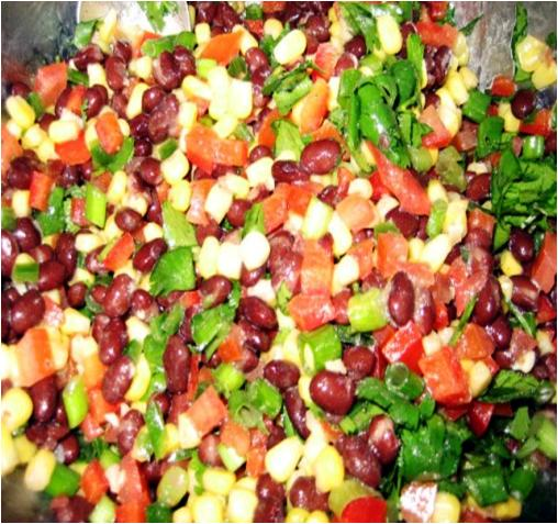 Black Bean and Sweet corn Salad Recipe