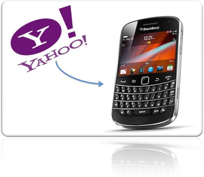 Blackberry Yahoo Mail Setup