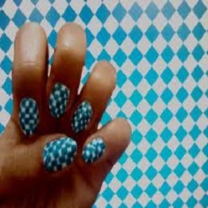 Checked Nails