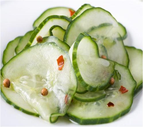 Coriander Cucumber Salad