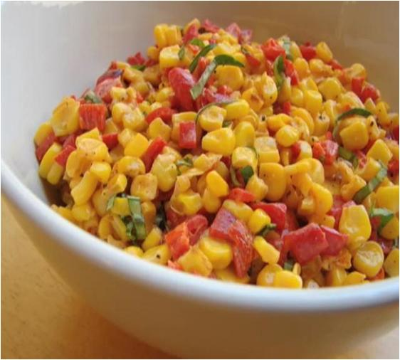 Corn and Red Pepper Salad Recipe