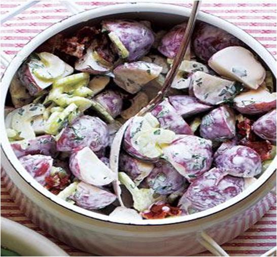 Creamy Bacon and Potato Salad Recipe