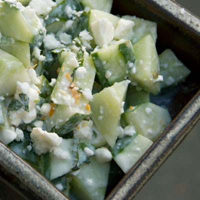 Cucumber Feta Salad Recipe