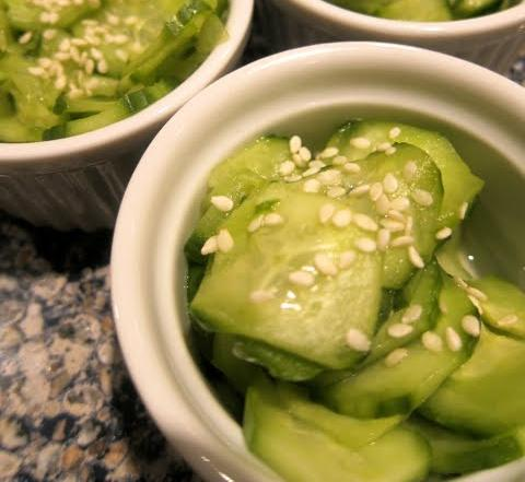 Cucumber Sunomo Recipe