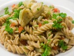 Easy Artichoke and Red Pepper Pasta Salad Recipe