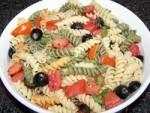 Easy Olive Oil, Tomato and Basil Pasta Salad Recipe