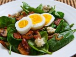 Egg and Spinach Salad Recipe