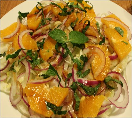 Fennel and Orange Salad Recipe