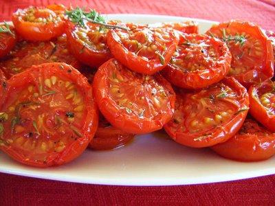 Feta and Slow Roasted Tomato Salad