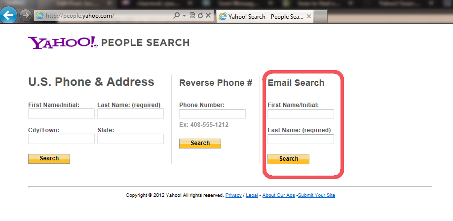 how to find persons email