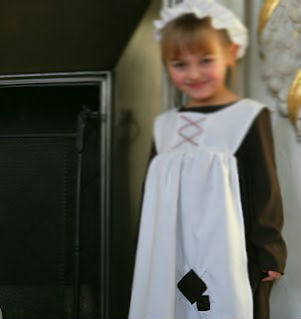 French maid apron for Kids