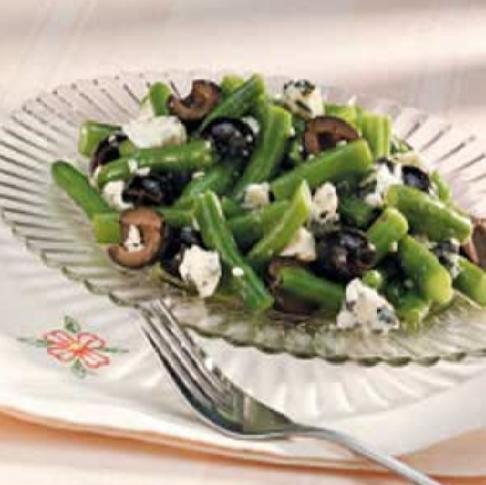 Green Bean and Blue Cheese Salad Recipe