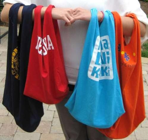 How to Re use Old T Shirts