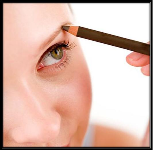 Apply Eyebrow Pencil