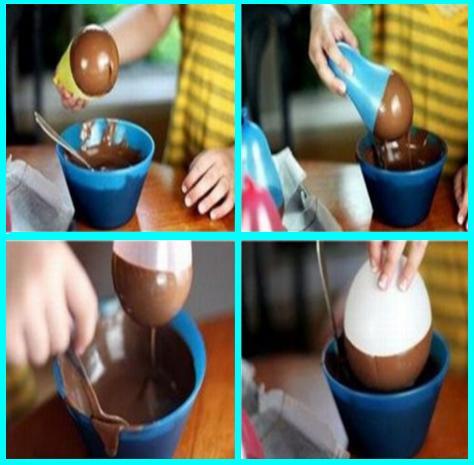 Make Chocolate Bowls