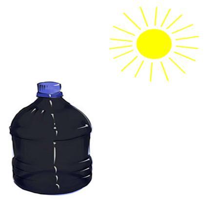 Simple Solar Water Heater