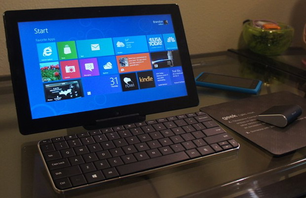 Microsoft Shows Off New Mouse And Keyboard For Windows 8