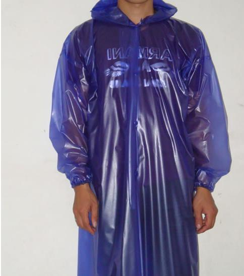 How to soft Plastic rain coat