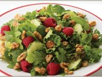 Raspberry Walnut Salad Recipe