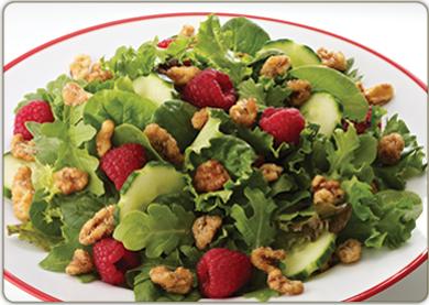 Raspberry Walnut Salad Recipe